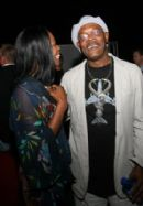 Sam Jackson Asks for the mutherf**#&! Flask at the Snakes on a Plane premiere party