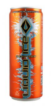 Liquid Ice Orange 12 oz