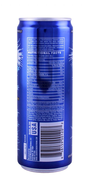 Liquid Ice: LiquidIce Energy Facts
