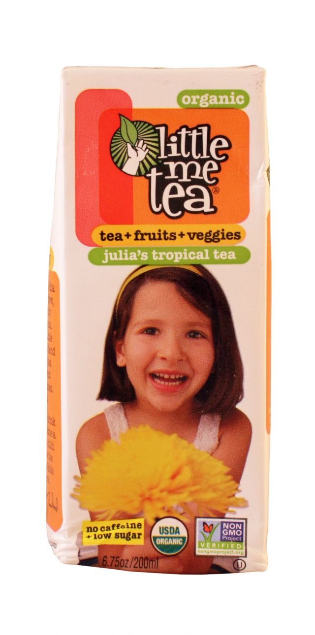 Little Me Tea: LittleMEtea Tropical Front