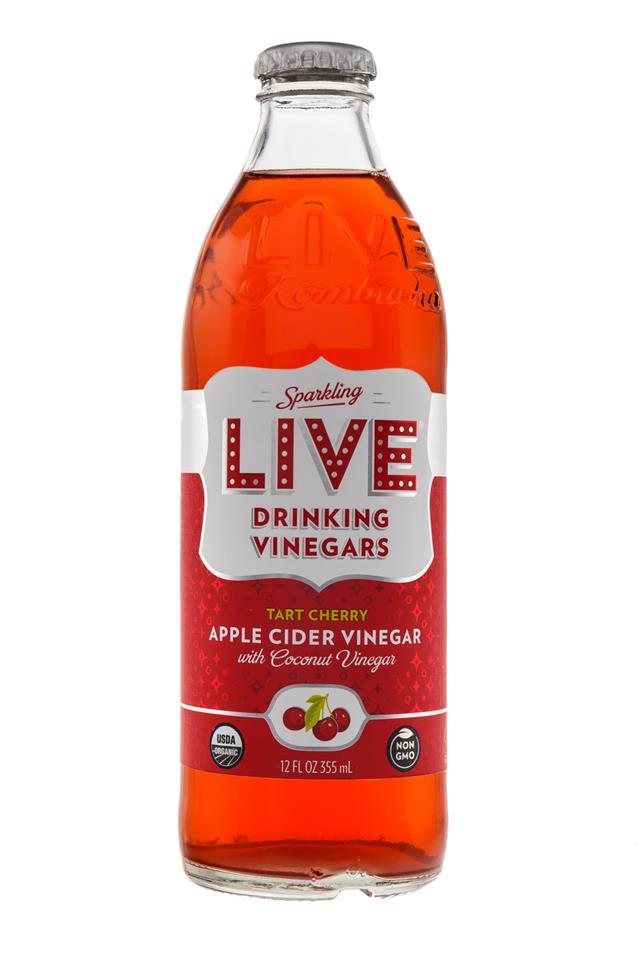 LIVE Sparkling Drinking Vinegars : Live-TartCherry-Front