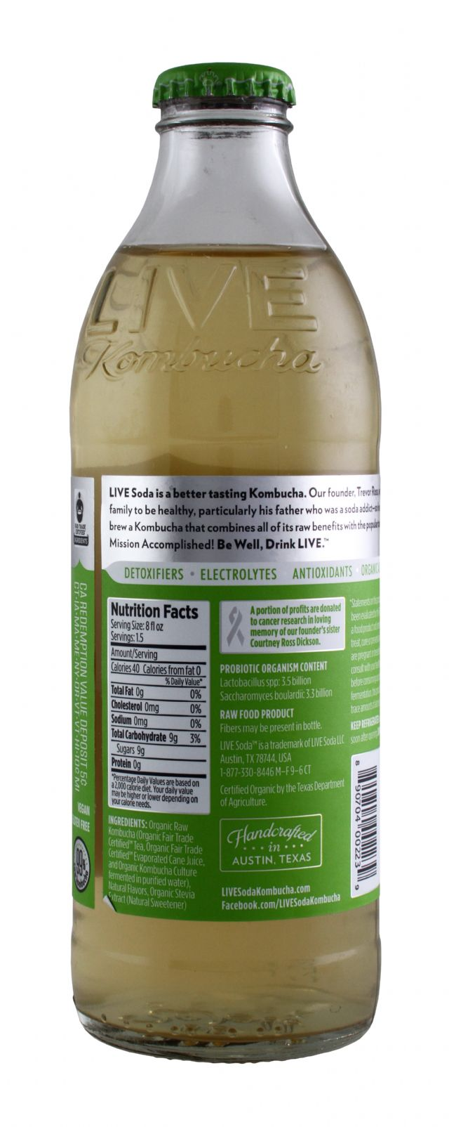 Live Soda Kombucha: Live LivingLimon Facts