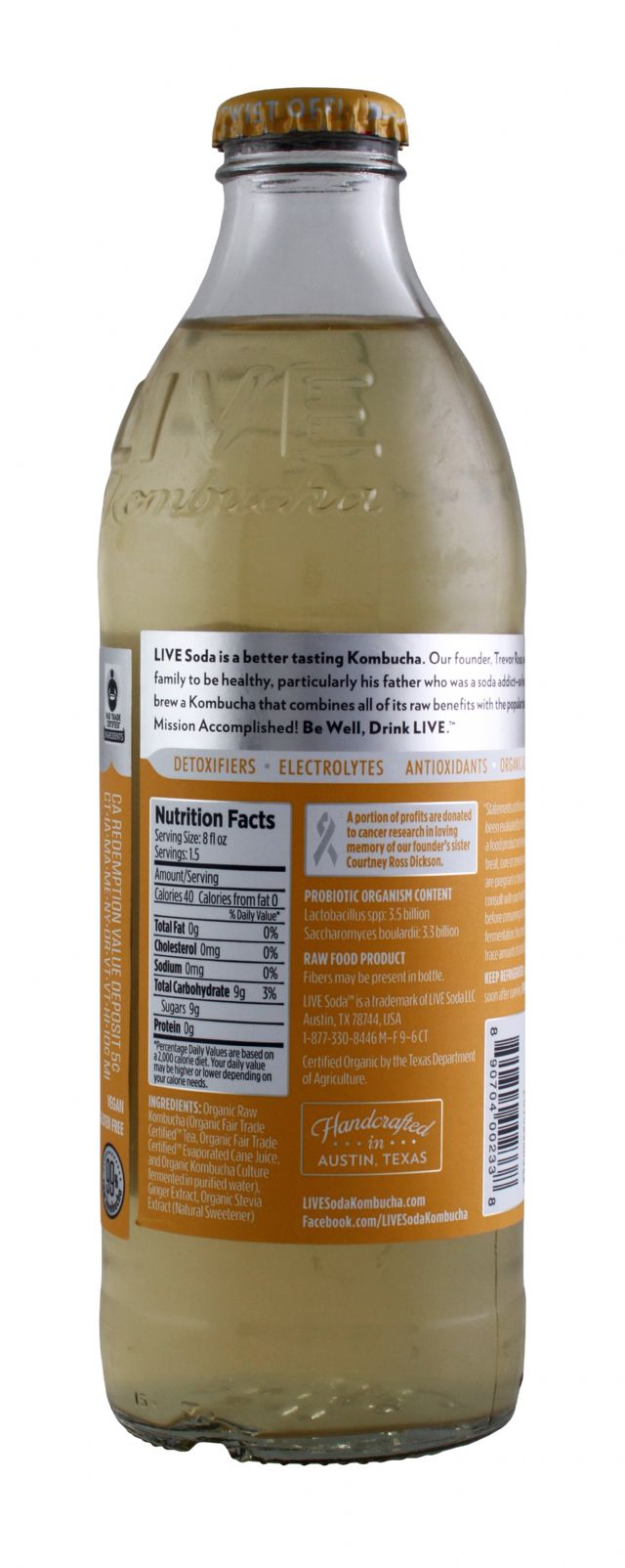 Live Soda Kombucha: Live SparkGing Facts