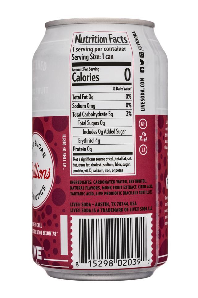 Live Soda Kombucha: LiveSoda-12oz-Probiotics-Doctor-Facts