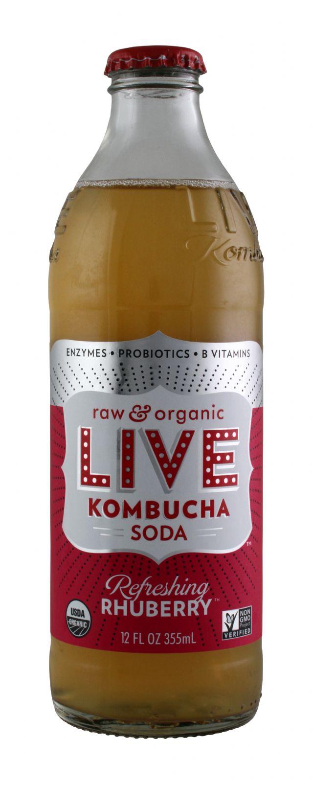 Live Soda Kombucha: Live RefreRub Front