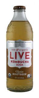 Live Soda Kombucha: Live ReviveRoot Front