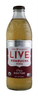 Live Soda Kombucha: Live PureDoctor Front