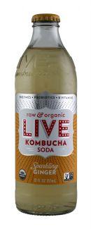 Live Soda Kombucha: Live SparkGing Front