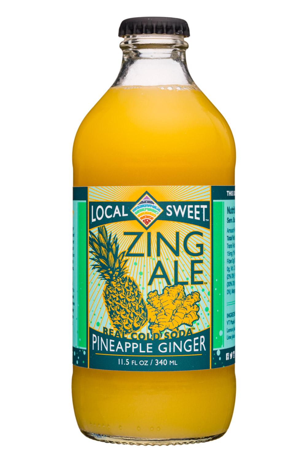 Zing Ale Pineapple Ginger