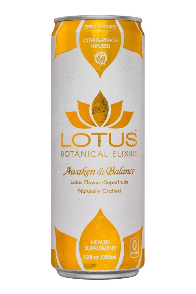 Lotus Botanical Elixirs: Lotus-BotanicalElixers-12oz-CitrusPeach-Front