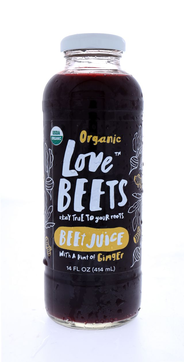 Love Beets: LoveBeets Ginger Front
