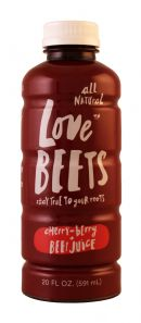 Love Beets: LoveBeets CherryBerry Front