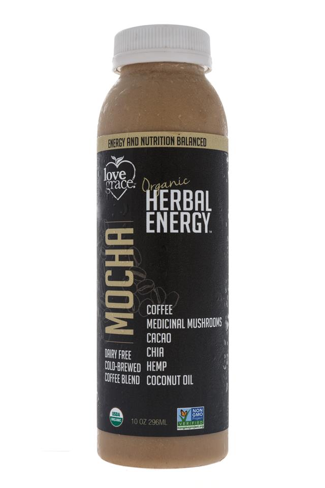 Love Grace: LoveGrace-HerbalEnergy-Mocha-Front