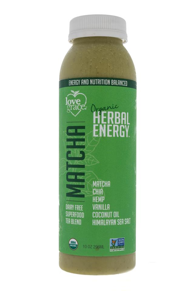 Love Grace: LoveGrace-HerbalEnergy-Matcha-Front