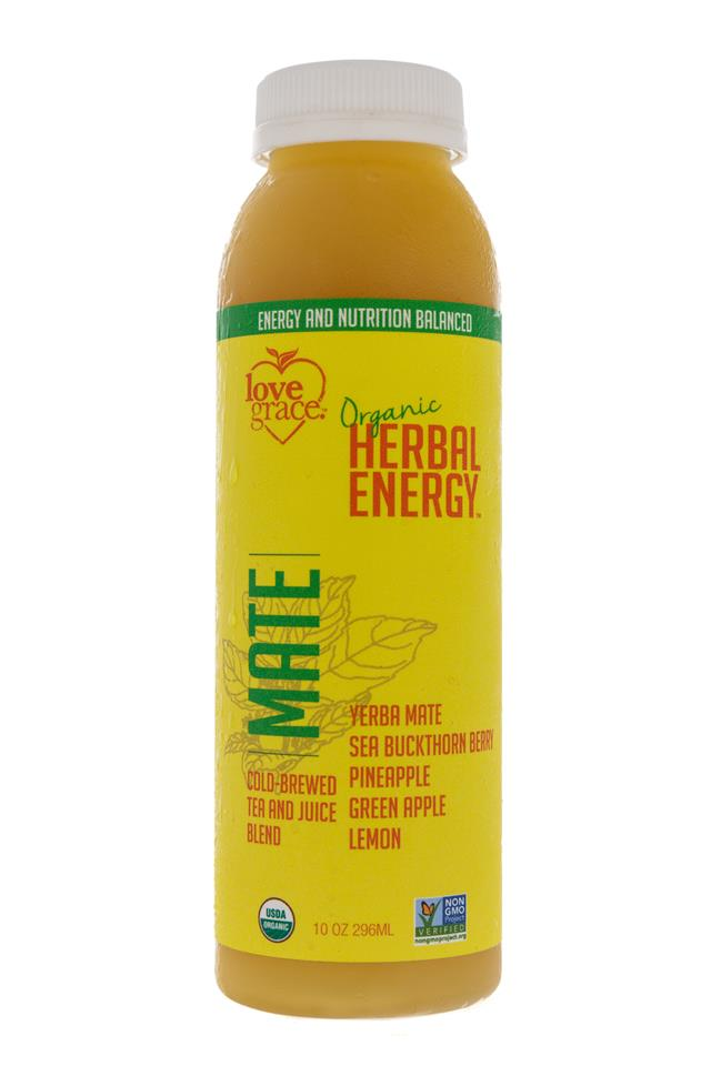 Love Grace: LoveGrace-HerbalEnergy-Mate-Front
