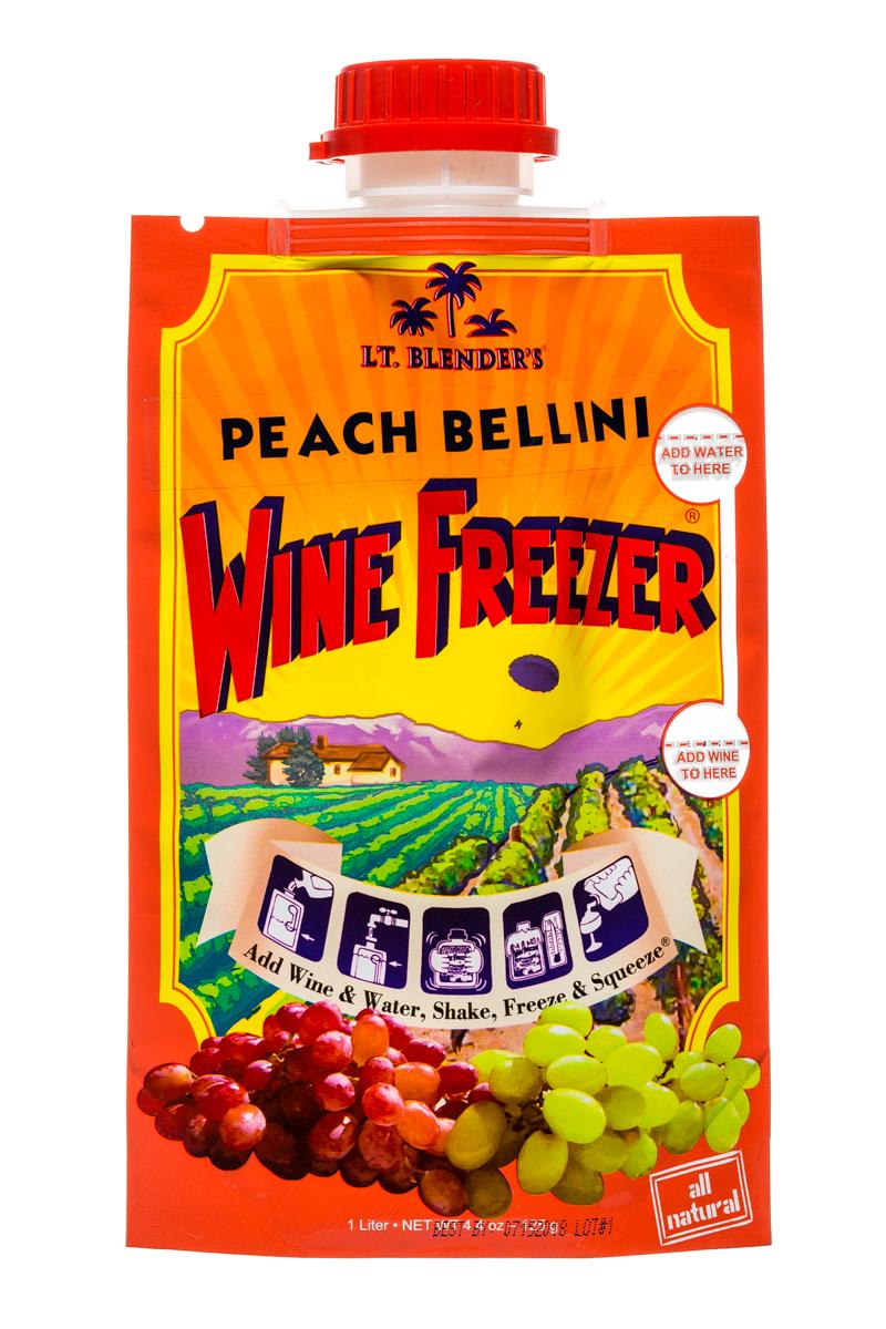 Lt Blender: LtBlenders-1l-WineFreezer-PeachBellini-Front