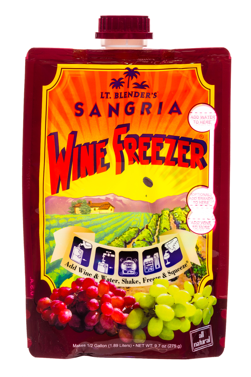 Lt Blender: LtBlenders-2l-WineFreezer-Sangria-Front
