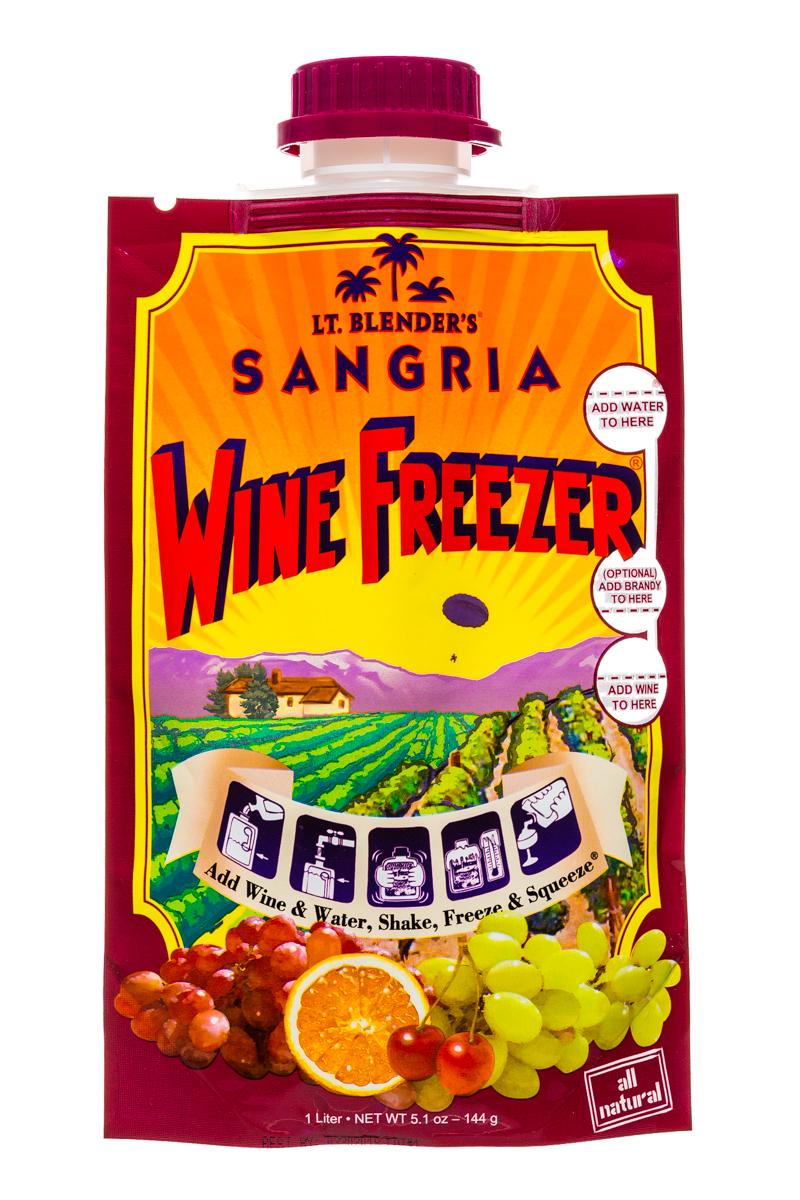 Lt Blender: LtBlenders-1l-WineFreezer-Sangria-Front