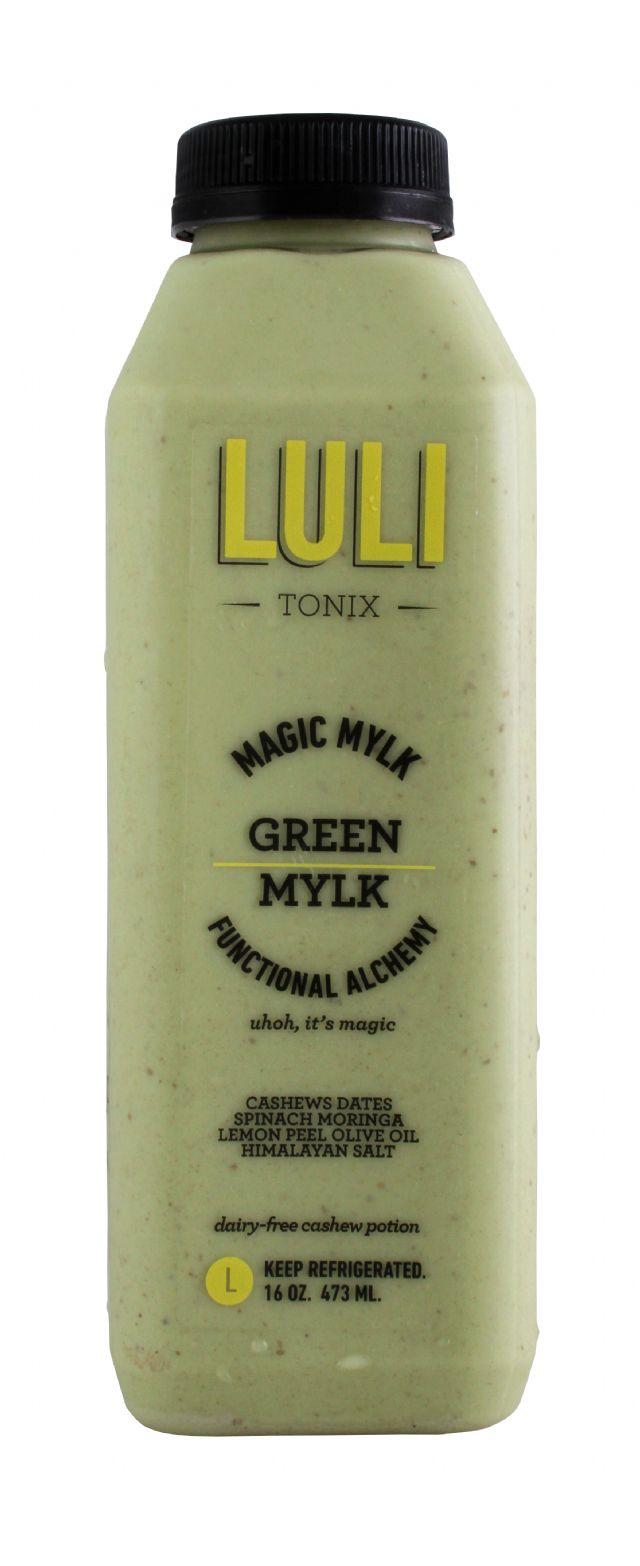 LuliTonix: Luli GreenMylk Front