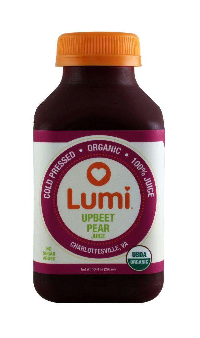 Lumi Juice: Lumi UpbeetPear Front