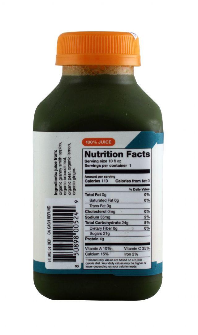 Lumi Juice: Lumi BigGreen Facts