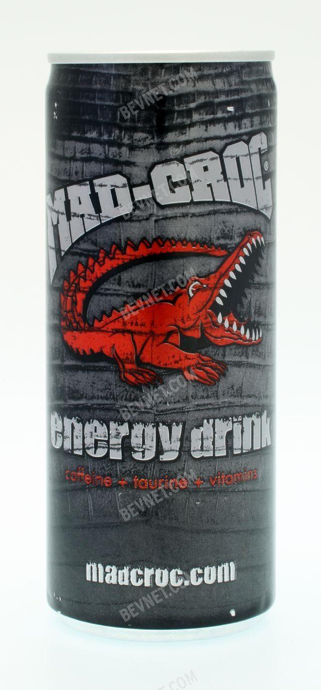 Mad Croc Energy Drink: