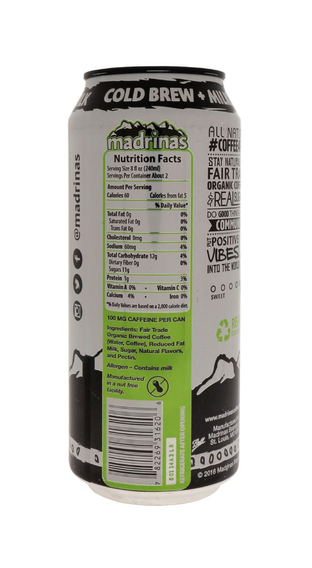 Madrinas Coffee: Mandrinas CoffeeMilk Facts