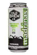 Madrinas Coffee: Madrinas-15oz-ColdBrew-Milk-Front