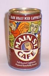 Dark Roast Iced Cappuccino