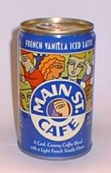 French Vanilla Iced Latte