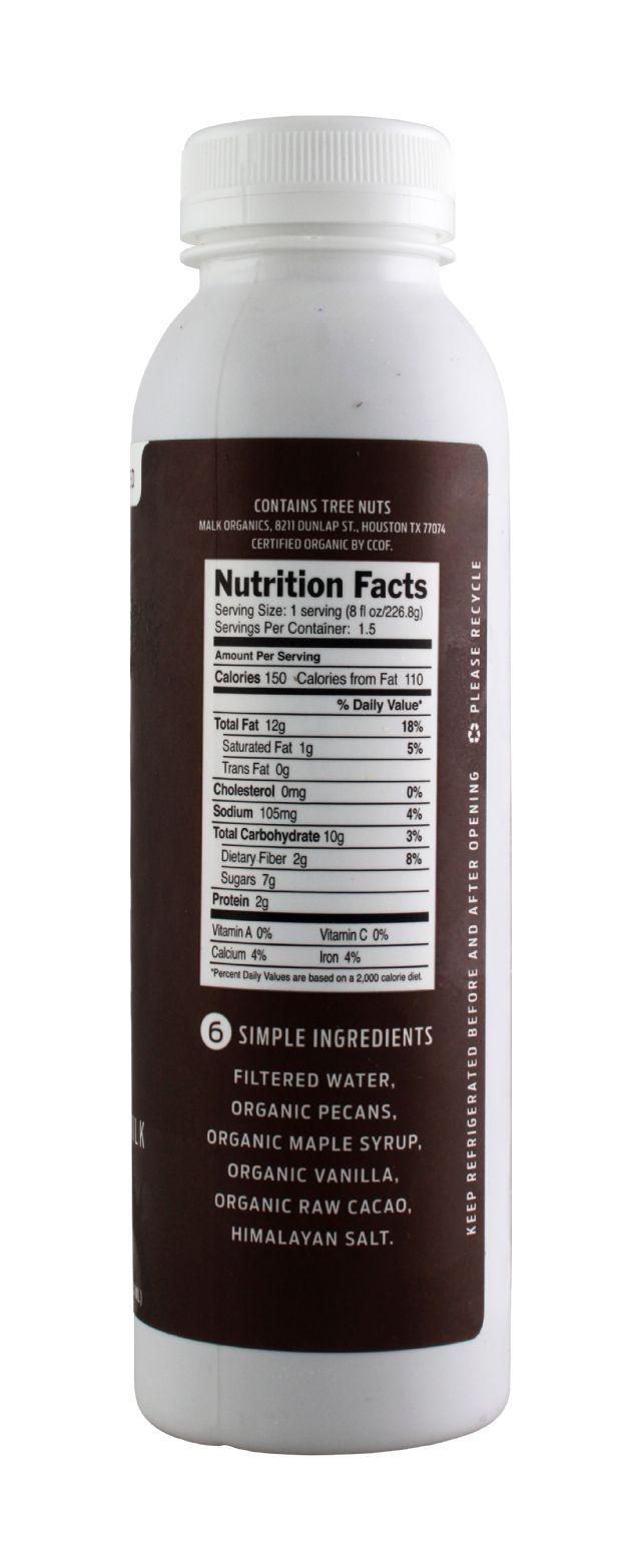MALK Organics: Malk Pecan Facts