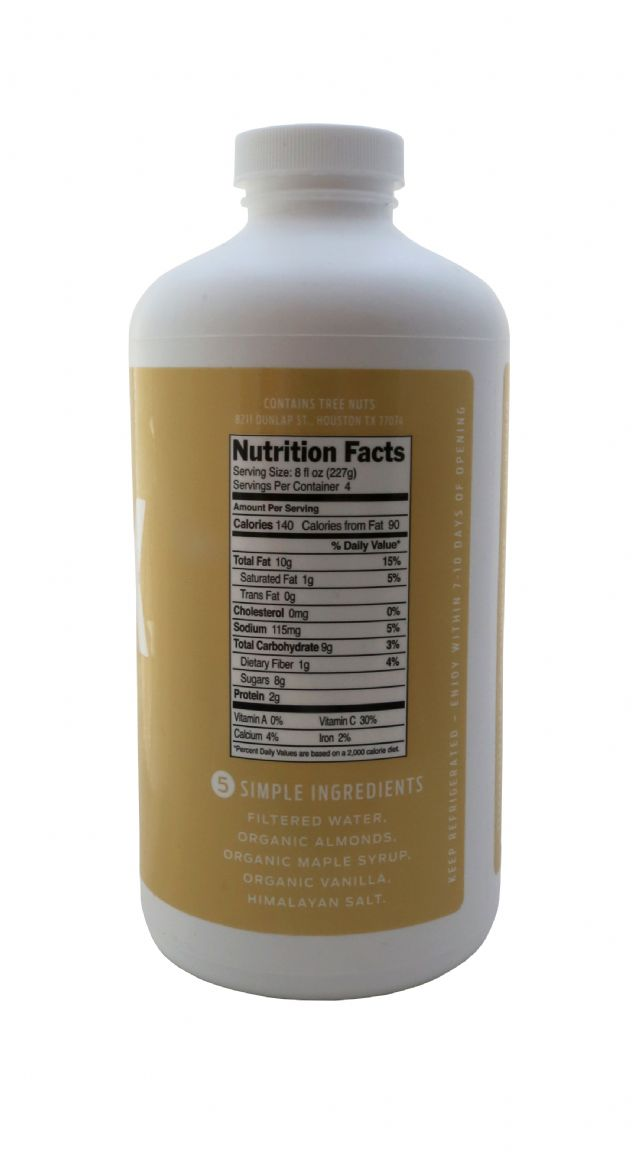MALK Organics: Malk Almond Facts