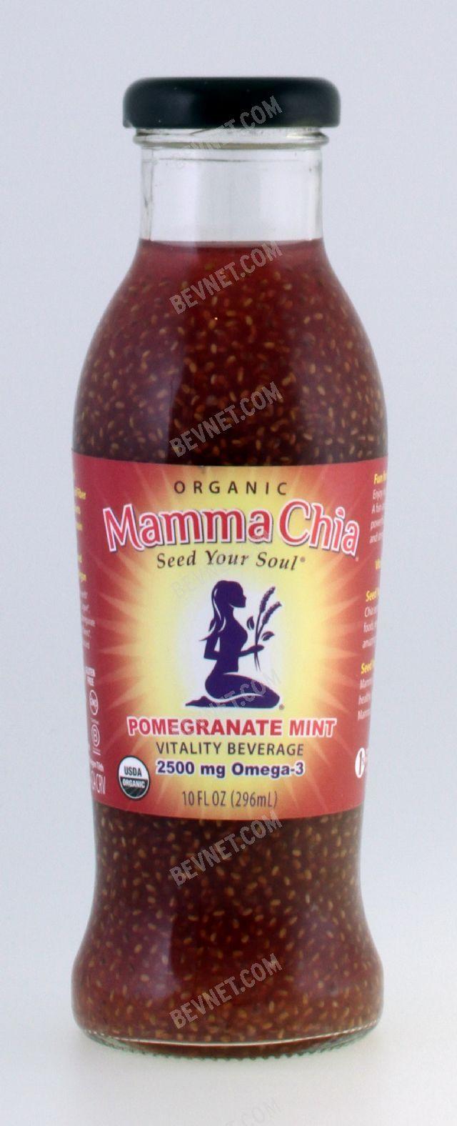 Mamma Chia Organic Vitality Beverages: