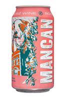 Mancan Wine: Mancan-12oz-RoseWine