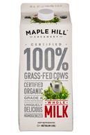 Maple Hill Creamery: MapleHill-HalfGallon-Milk-Whole-Front