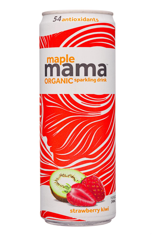 MapleMama: MapleMama-12oz-2020-Sparkling-StrawbKiwi-Front