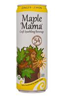 MapleMama: MapleMama-12oz-2020-SparklngBev-GingerLemon-Front