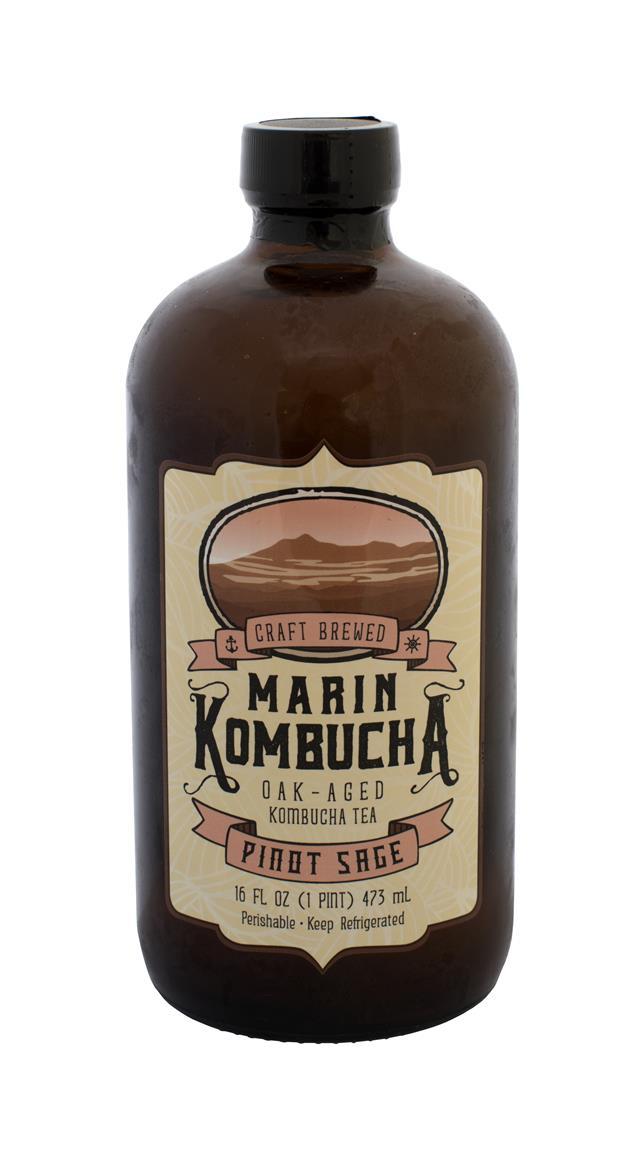 Marin Kombucha: Marin PinotSage