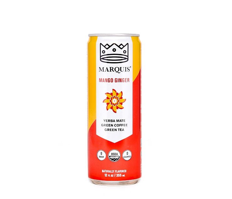 Photo of Mango Ginger - Marquis Organic Energy (uploaded by company)