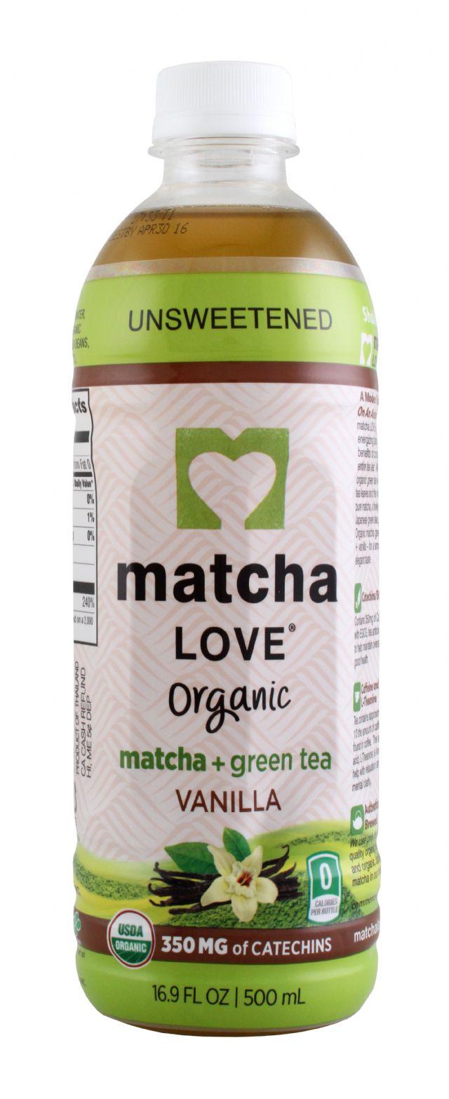 Matcha LOVE: MatchaLove Vanilla Front
