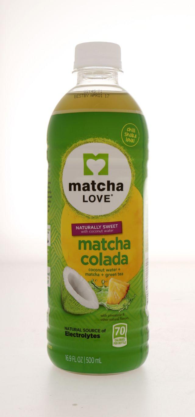 Matcha LOVE: MatchaLove Colada Front