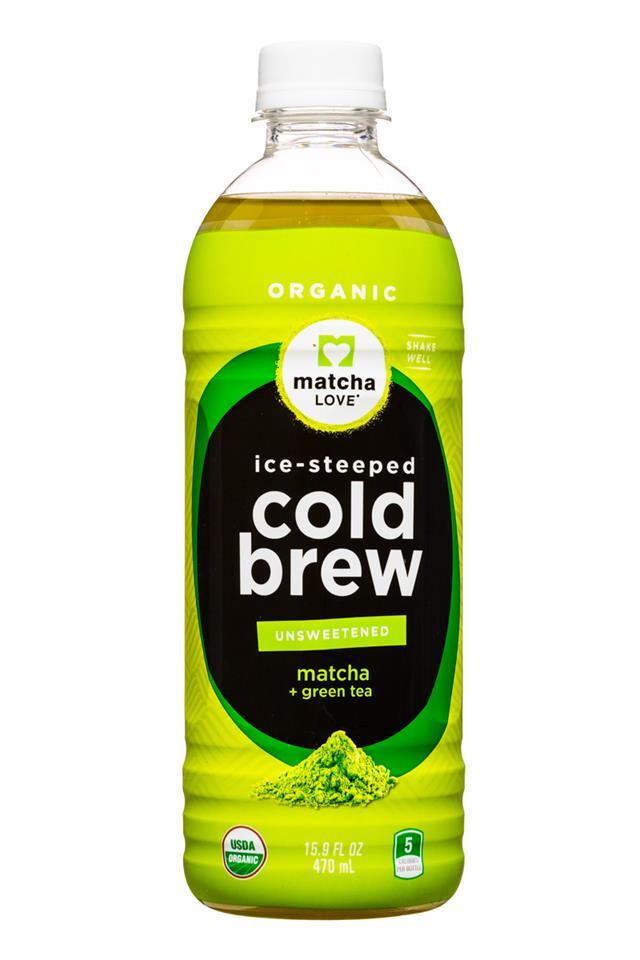 Matcha LOVE: MatchaLove-ColdBrew-16oz-Unsweet-Matcha-Front