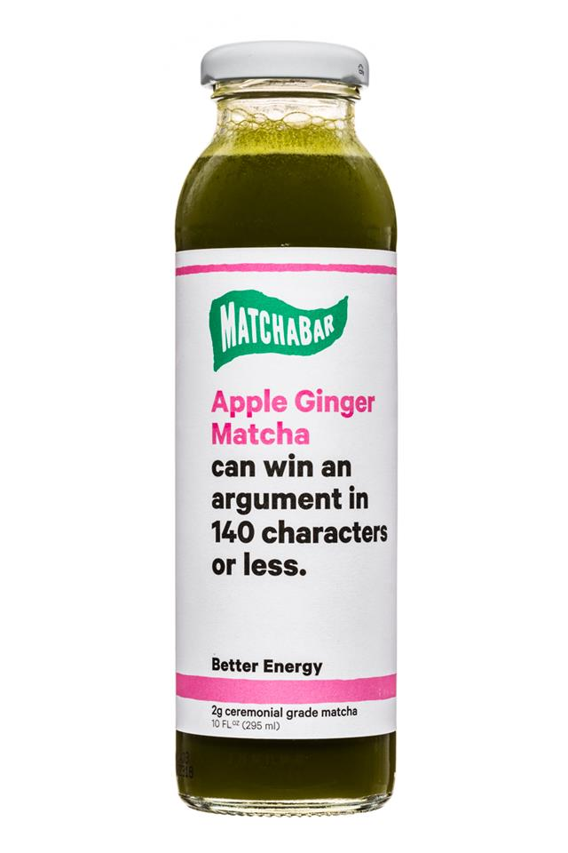 MatchaBar: Matchabar-10oz-BetterEnergy-AppleGinger-Front