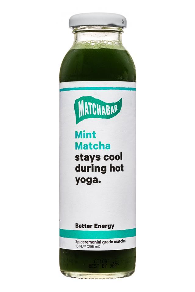 MatchaBar: Matchabar-10oz-BetterEnergy-Mint-Front