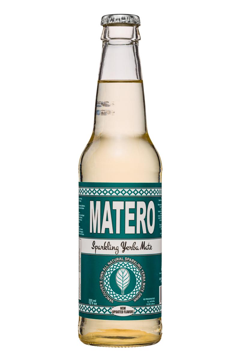 Matero Sparkling Yerba Mate: Matero-SparklingYerbaMate-12oz-Front
