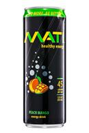 Mati Energy : Mati-HealthyEnergy-12oz-PeachMango-Front