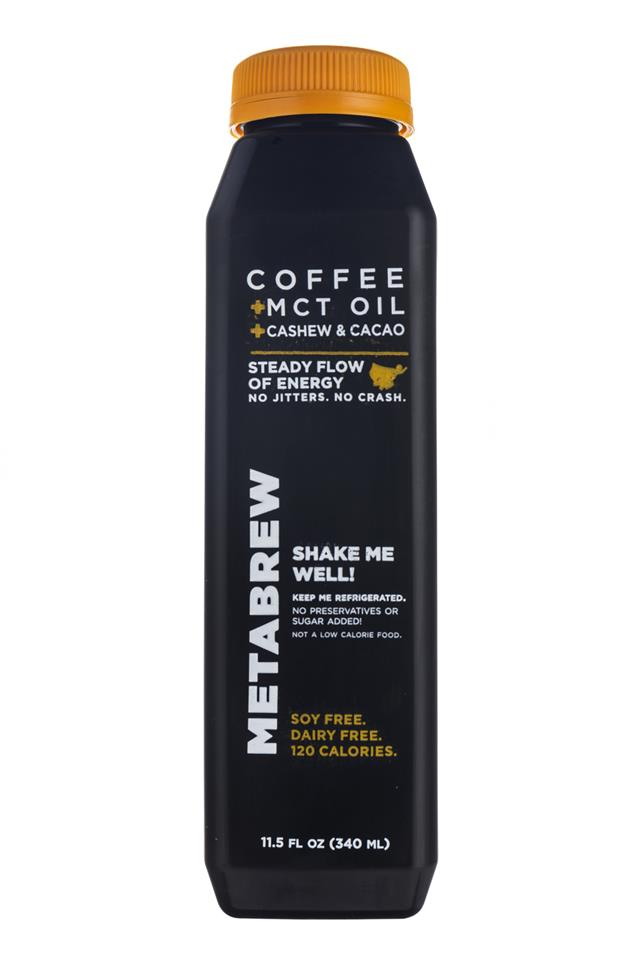 Metabrew: Metabrew-Coffee-CashewCacao-Front