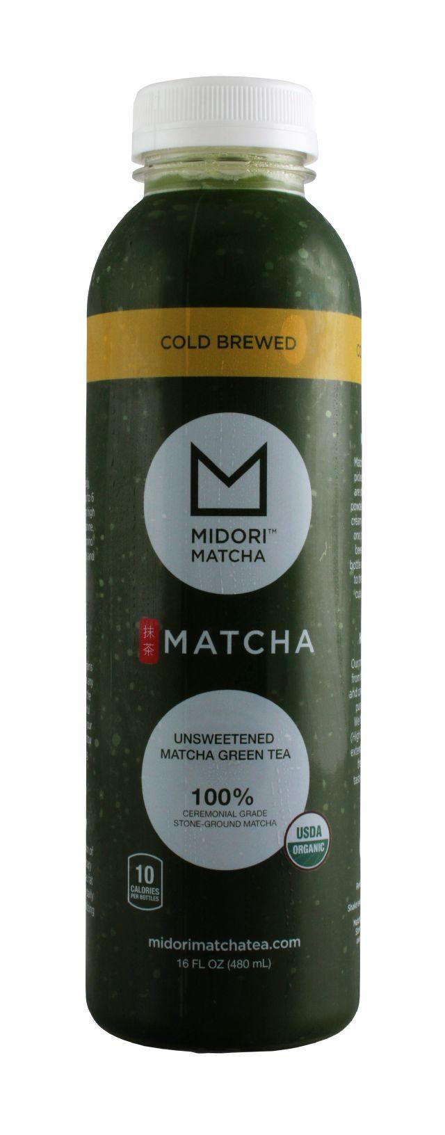 Midori Matcha: Midori Unsweetened Front