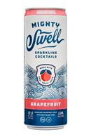 Mighty Swell: MightySwell-12oz-SparklingCocktails-Grapefruit-Front