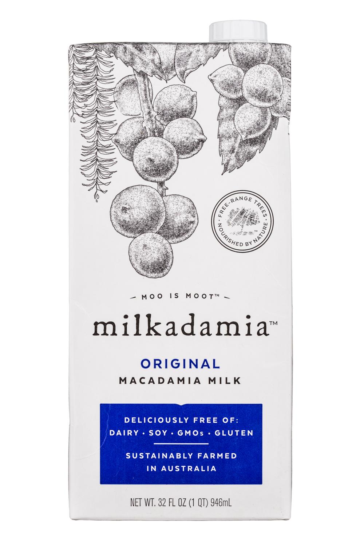 Milkadamia: Milkadamia-32oz-MacadamiaMilk-OG-Front